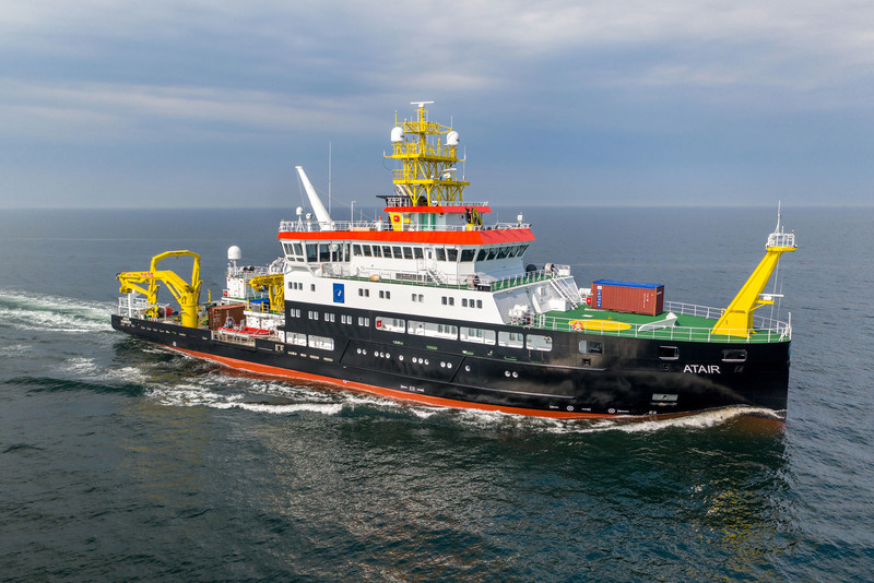75m Survey-, Wrecksearch- and Research Vessel (ATAIR)