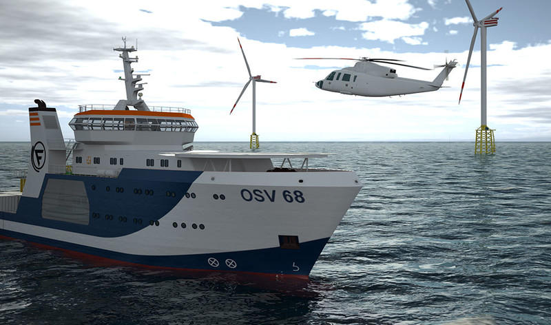 68m Offshore Support Vessel